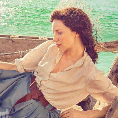 "Claire&Jamie SamCait Outlander on Instagram: ""New still & video of"