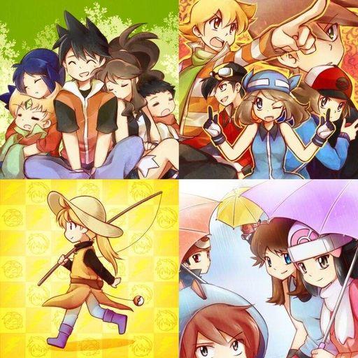 Pokemon special red x yellow doujinshi
